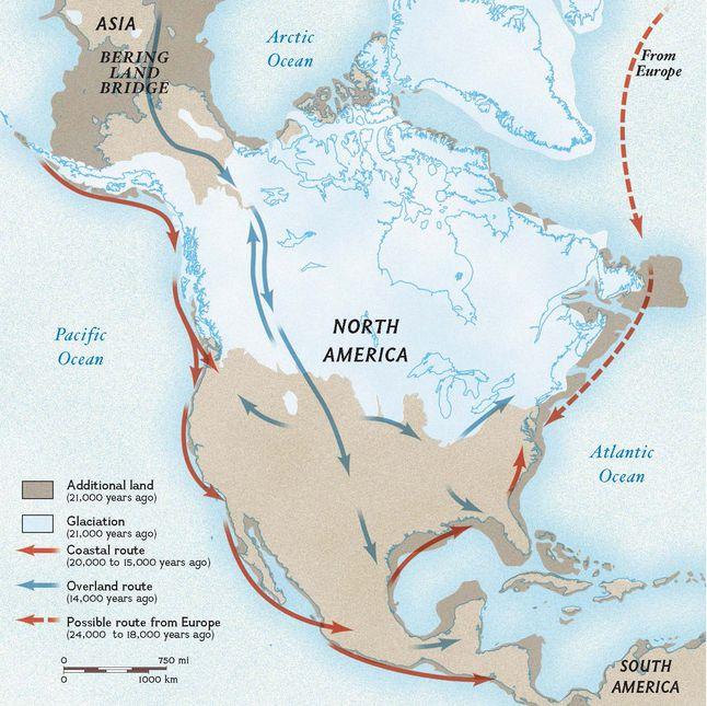 Bering Land Bridge | National Geographic Society