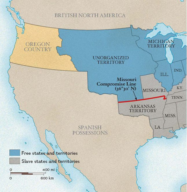 The Missouri Compromise National Geographic Society