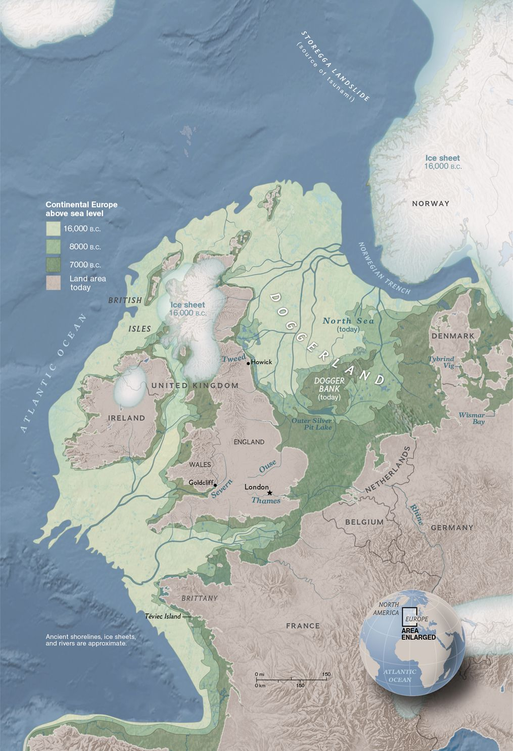 Image of: Doggerland The Europe That Was National Geographic Society