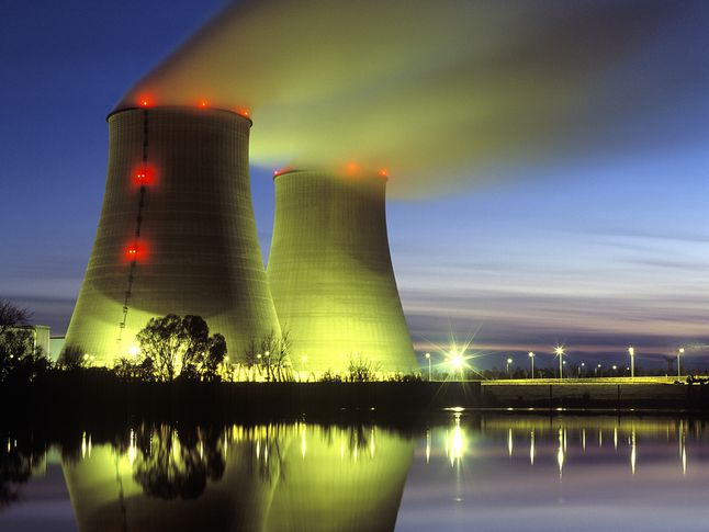 Vapor Vents from Nuclear Power Reactors
