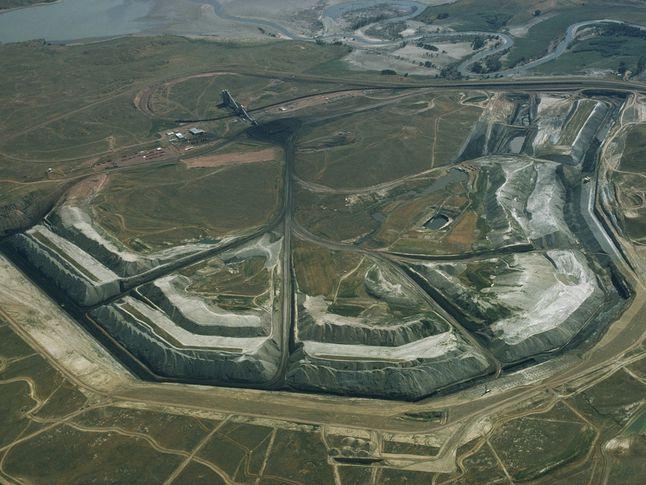Decker Coal Strip Mining