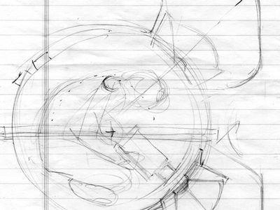 Photo. Drawing.