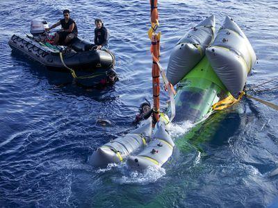 Photo. Submarine.