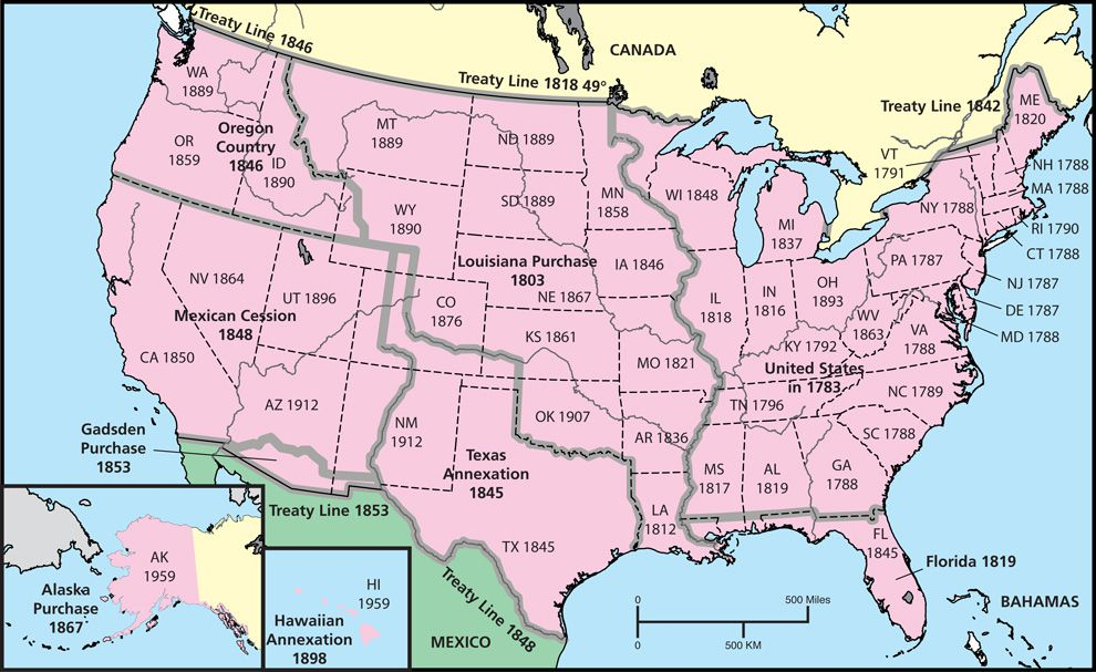 Us Westward Expansion Map Westward Expansion | National Geographic Society