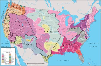 Native Americans National Geographic Society - Map of native american tribes in us