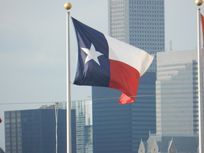 Photograph of Texas state flag.