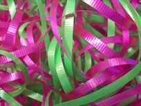 Picture of pink and green ropes.