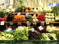 Picture of vegetables in Stuttgart.