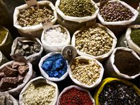 Picture of colorful spices.