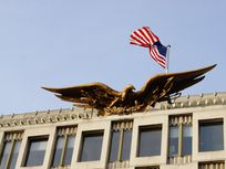 Picture of the American Embassy.