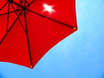 Picture of an umbrella.