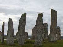 Picture of a Neolithic stone circle.