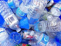 Picture of plastic bottles.