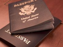 Picture of passports.