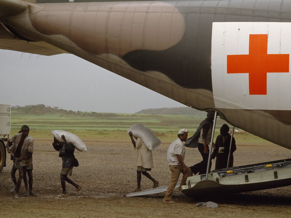 Red Cross Is Founded National Geographic Society