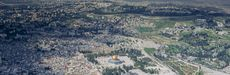 Photo: Aerial of Jerusalem.
