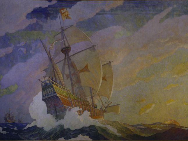 Caravels of Columbus