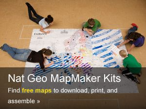 Mapmaker kits 101 national geographic society mapmaker kits 101 gumiabroncs Gallery