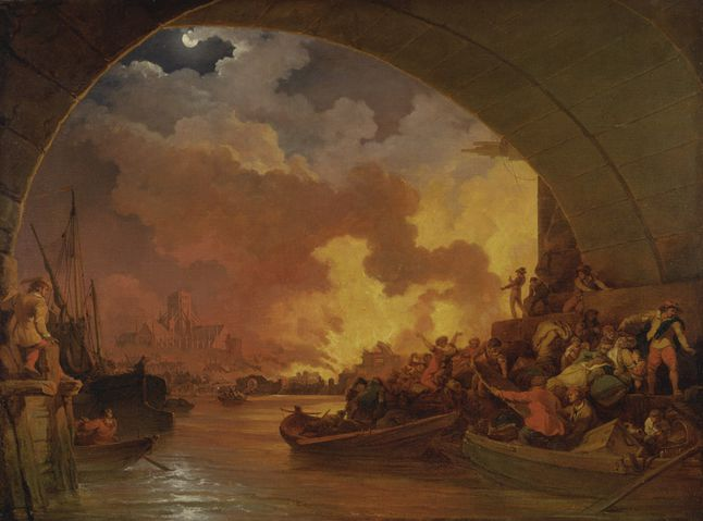 Great Fire Of London National Geographic Society
