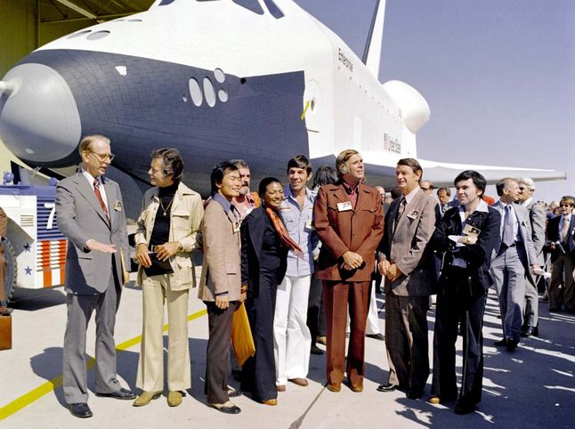 Enterprise and Crew