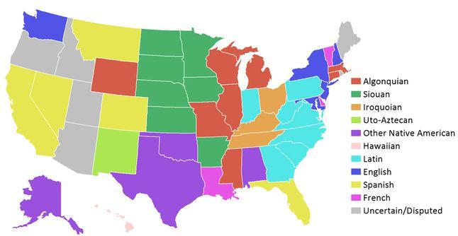 U.S. State Names