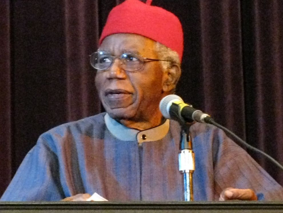 achebes biography Chinua achebe was born in 1930 he is a nigerian novelist and poet, and he is generally acknowledged as the father of the african novel chinua achebe was born in.