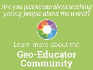 Geo Education Community to NG Website