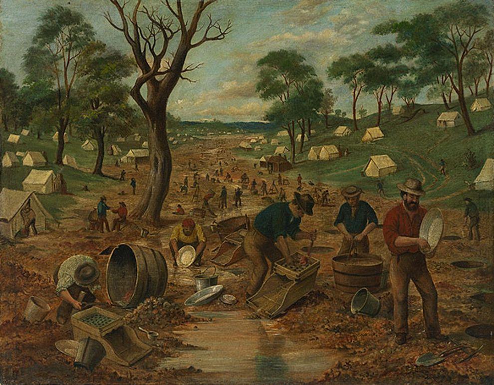 Australian Gold Rush Begins | National Geographic Society - photo #33