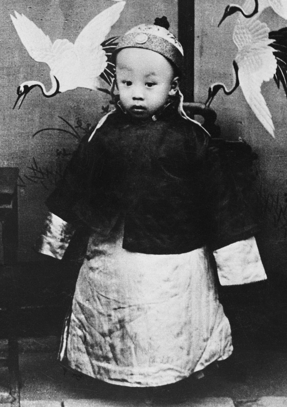 Emperor Pu Yi, who went from being a ruler to a citizen 57