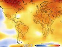 Global Temperature Anomalies 1880-2012e