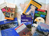 Road map and travel guides about North America