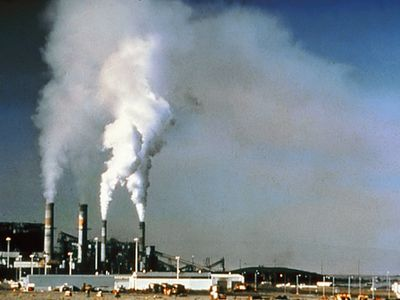 Air Pollution From a Power Plant