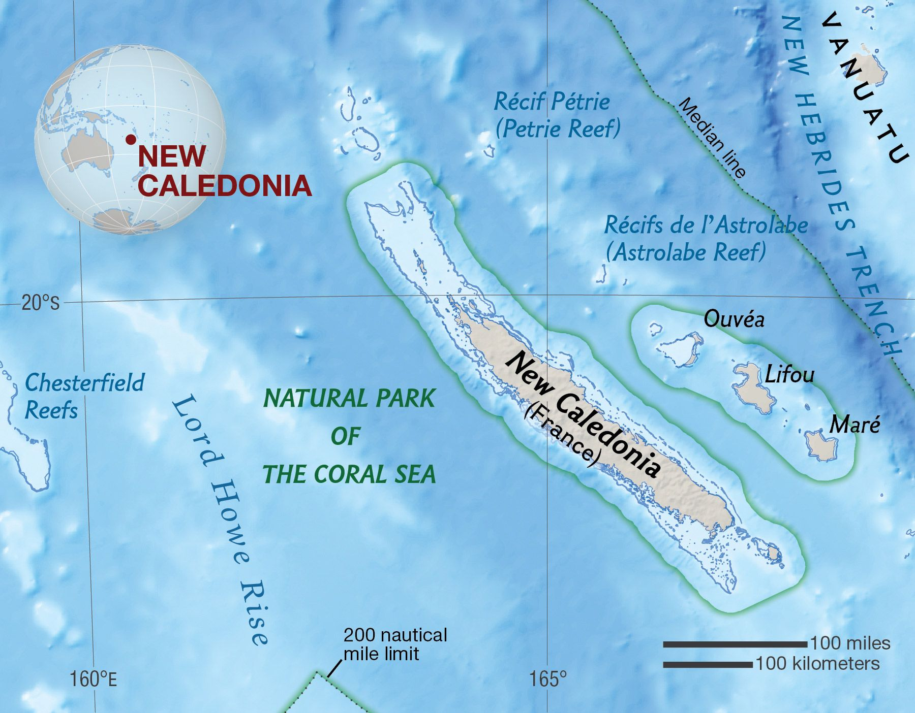 New Caledonia National Geographic Society
