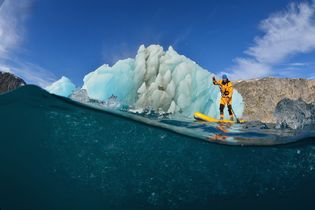 Paddleboarding With Polar Bears:<br>A Virtual Reality Exploration