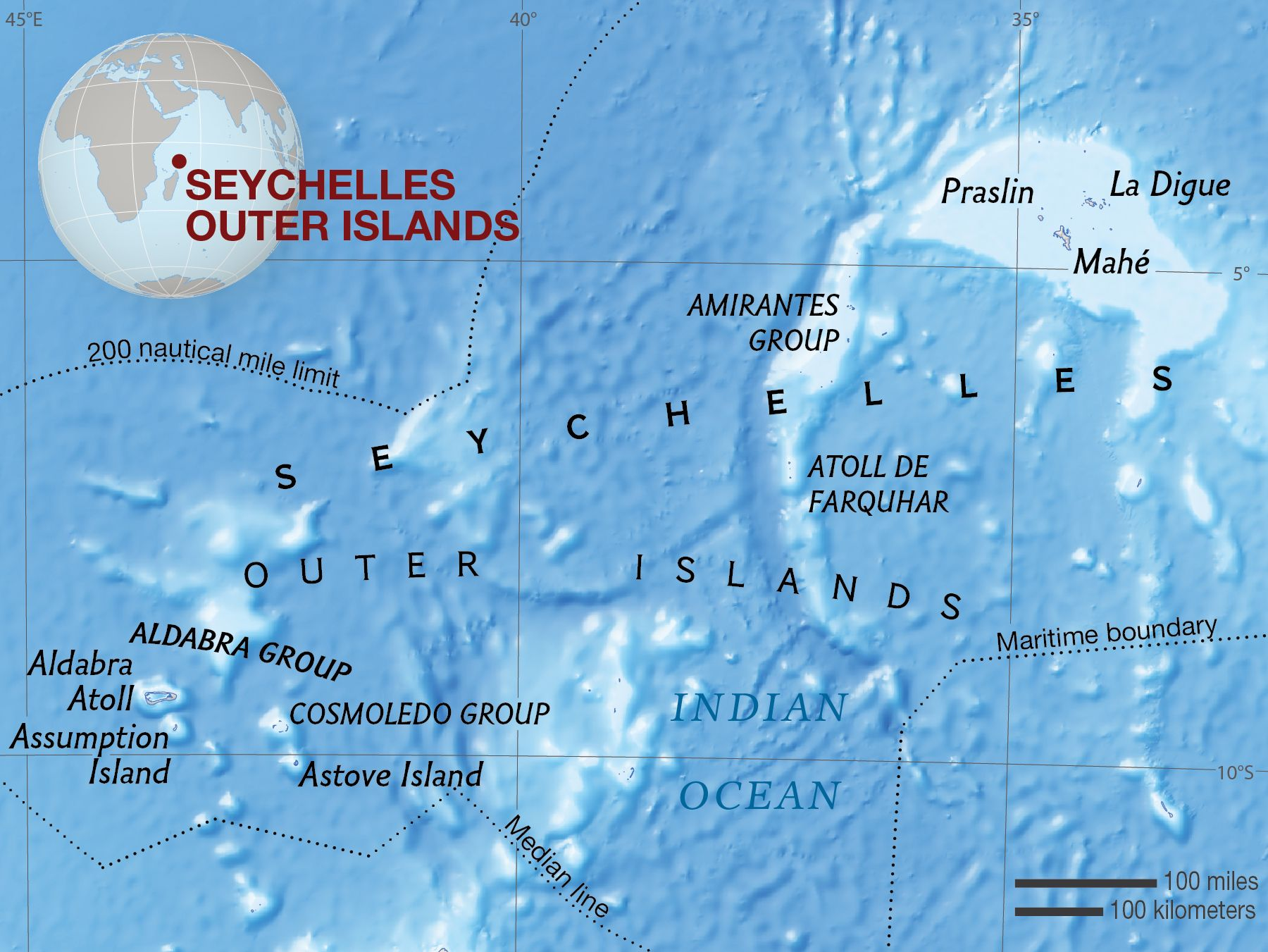 Seychelles Outer Islands National Geographic Society