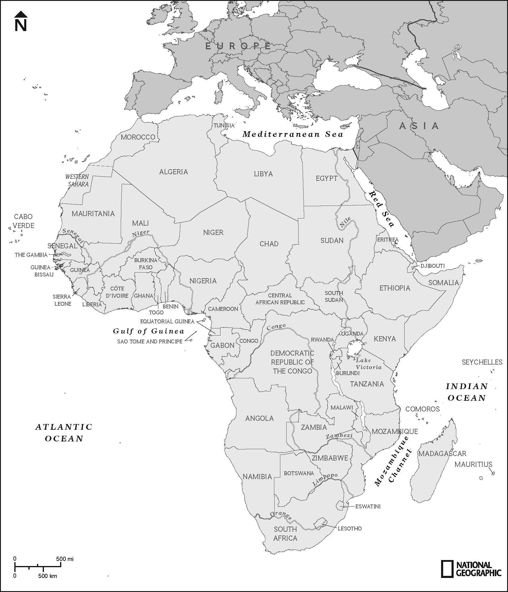Geobee Study Toolkit Africa National Geographic Society