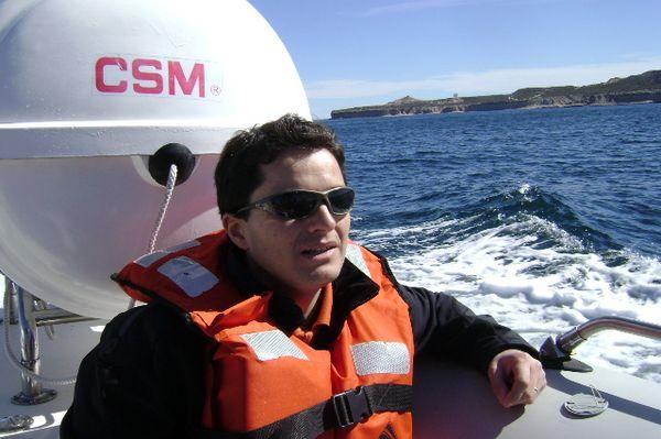 Image of Pablo Borboroglu in Patagonia