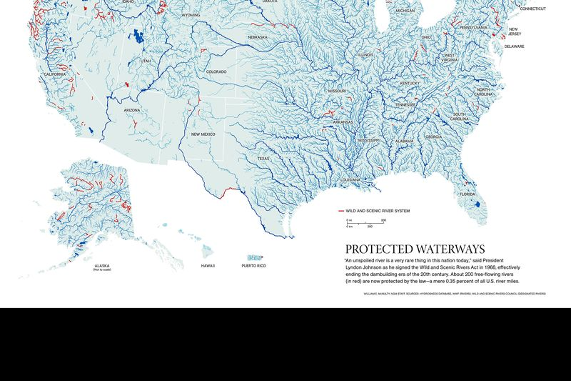 Maps National Geographic Society - Us map waterways