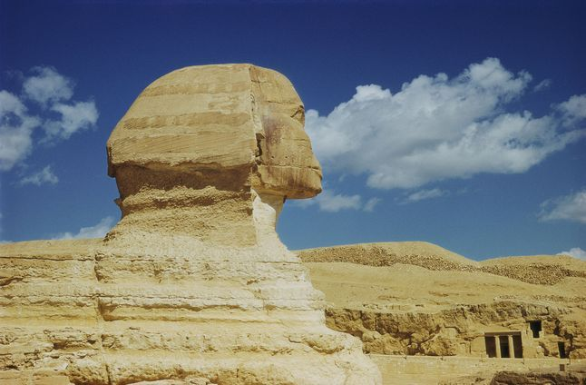 Ancient Egypt Great Sphinx 584593