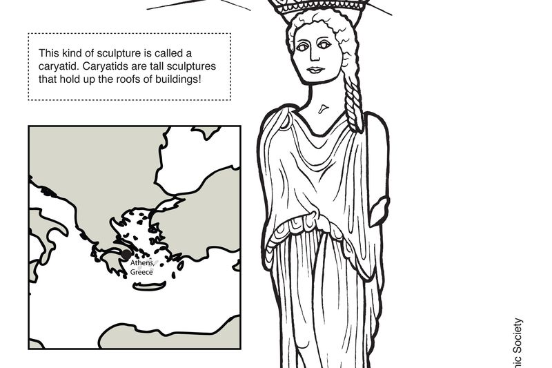 Coloring pages of great building structures and monuments of the world | 533x800