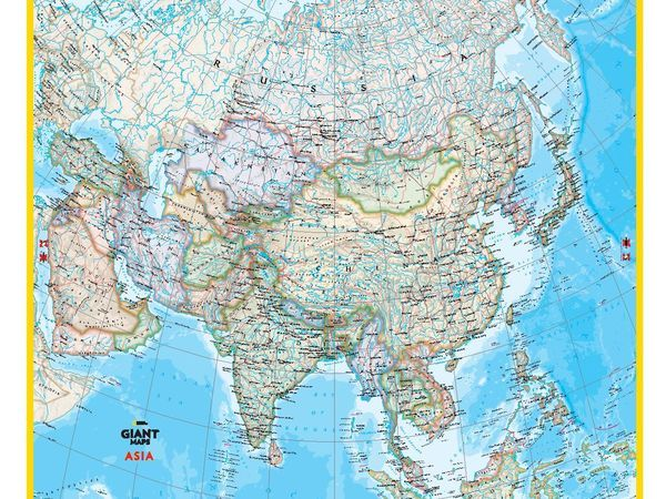 Activities national geographic society giant maps asia sciox Images
