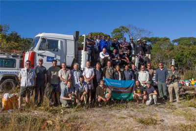 Picture of Okavango team
