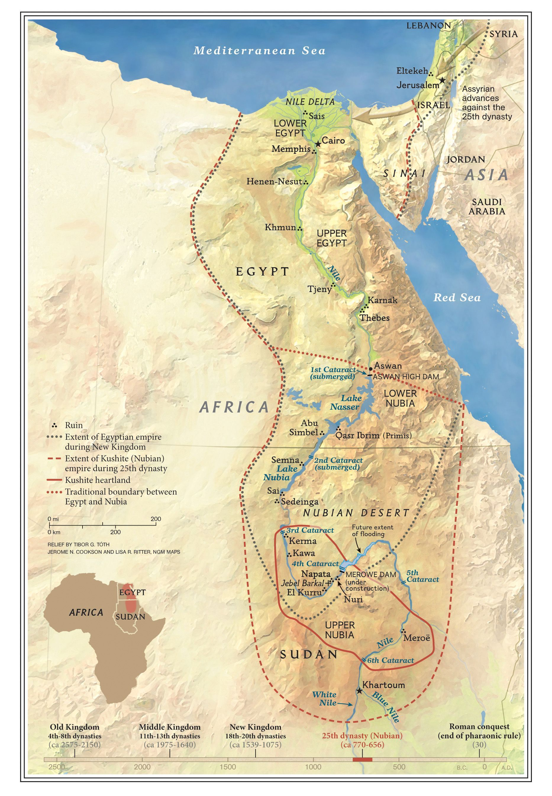 The Kingdoms of Kush | National Geographic Society