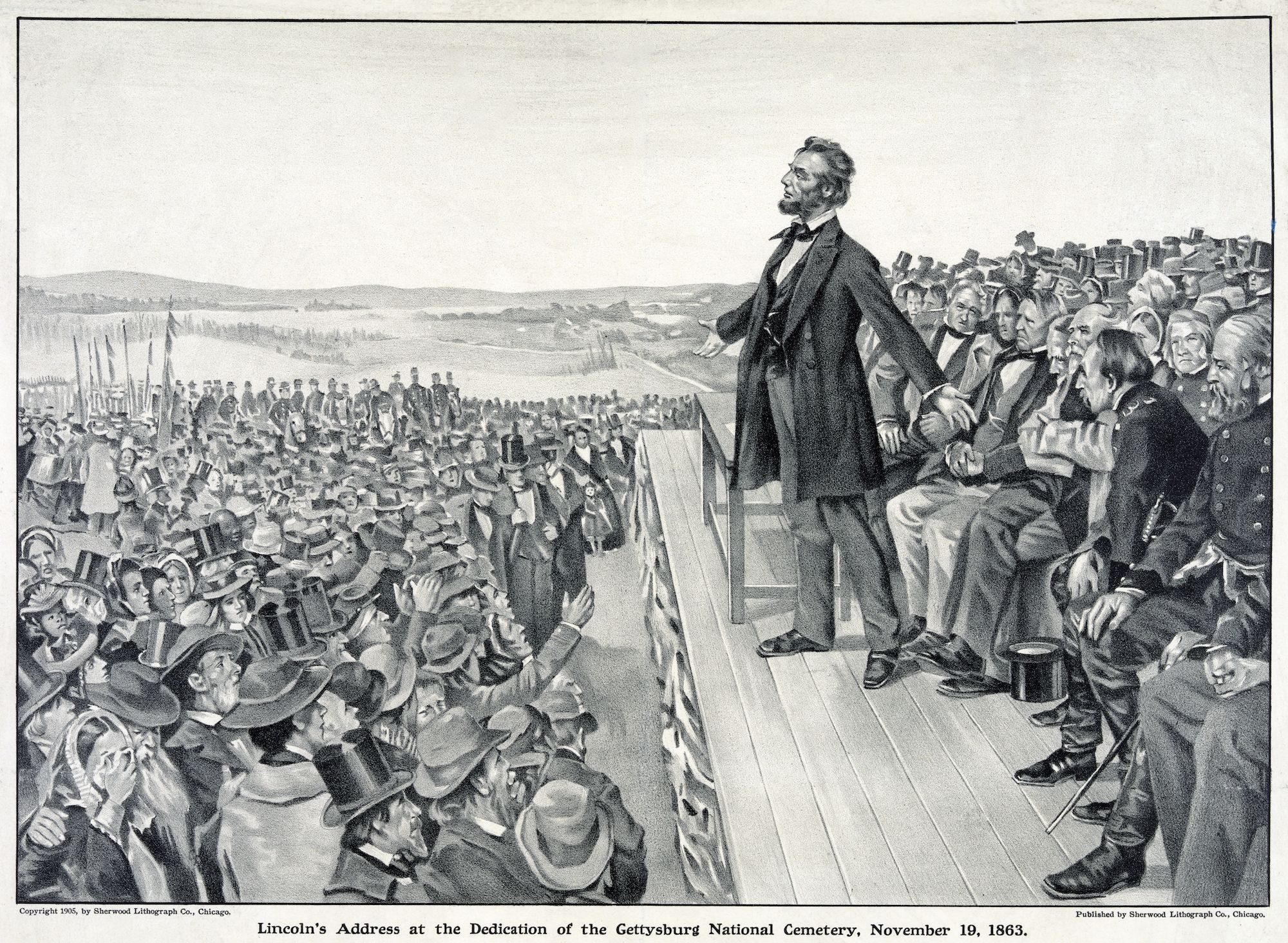 Lincoln's Gettysburg Address NatGeo Image One