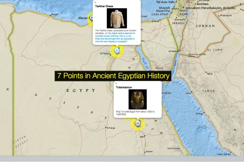 7 points in egyptian history