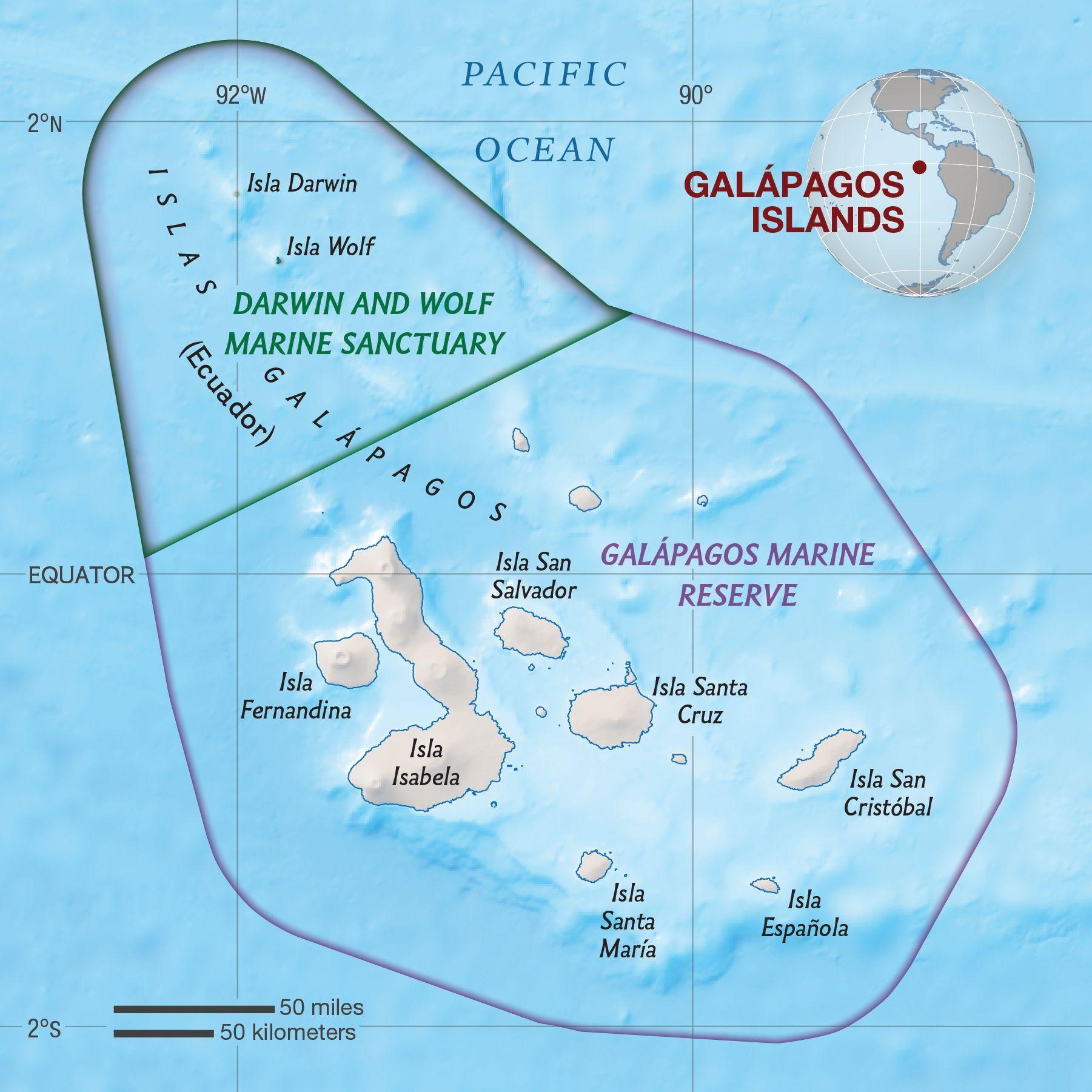 Galapagos Islands National Geographic Society