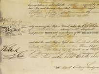 Prior to the adoption of the United States Constitution, there was no formal consistent system for registering and measuring vessels. Under the law, only American ships could be registered and as a result, the shipbuilding industry in the U.S. grew.