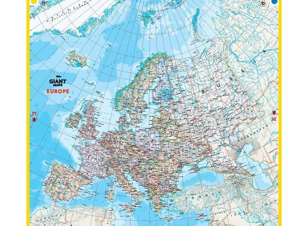 Activities national geographic society giant maps europe sciox Images