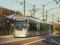 Light rail is a possible solution to helping cities better manage congestion from automobile traffic. Light-rail trains enable more people to travel in tighter spaces, meaning less traffic, and use electricity instead of combustion engines, meaning less pollution.