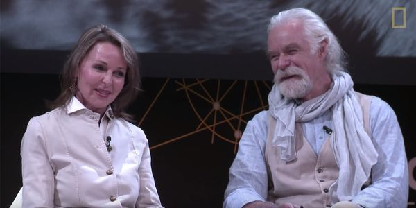 Image of Dereck and Beverly Joubert at Explorers Festival 2018